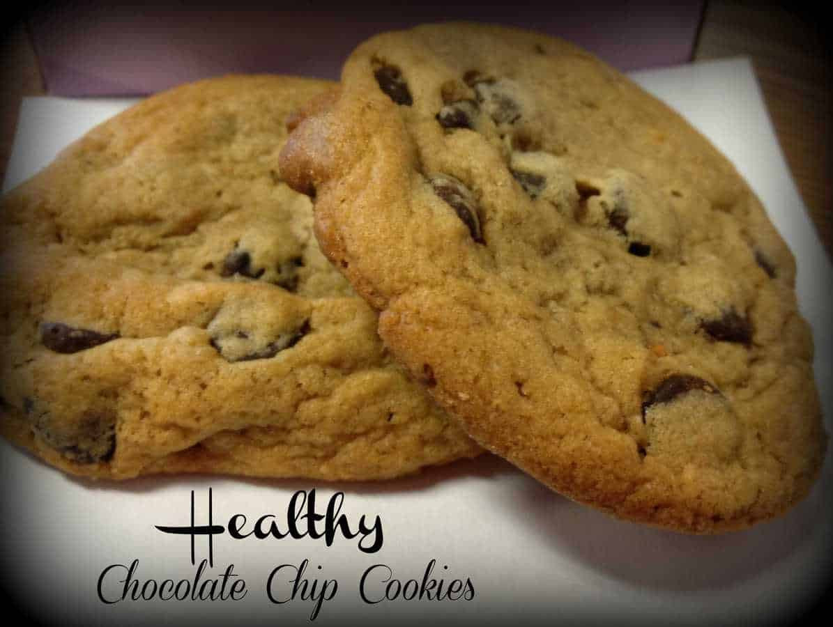 Chocolate Chip Cookies Recipe Healthy  My Version Healthy Chocolate Chip Cookie Recipe Just 2