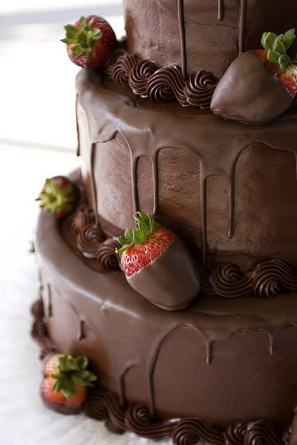 Chocolate Covered Strawberry Wedding Cakes  Chocolate Wedding Cakes