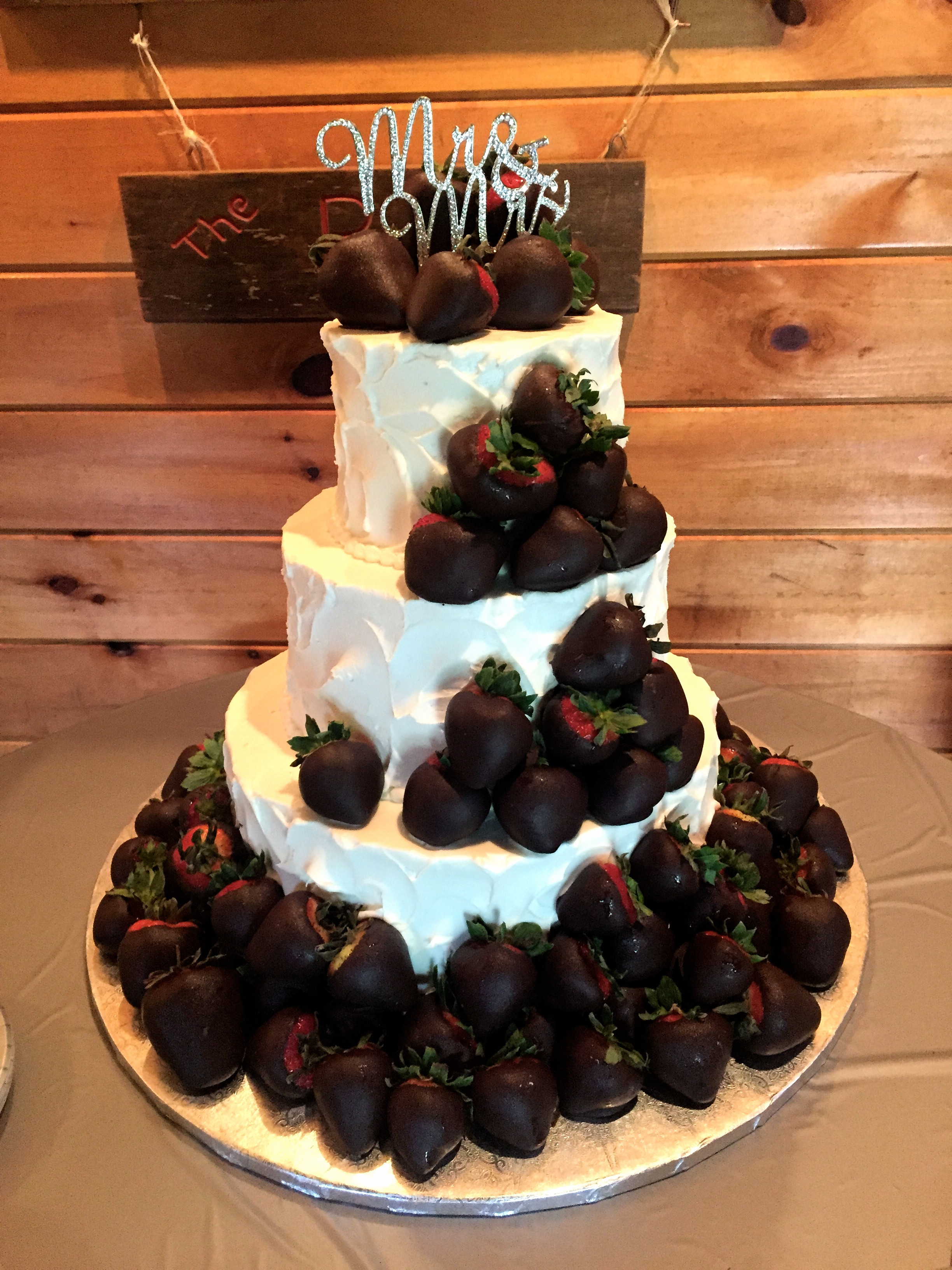 Chocolate Covered Strawberry Wedding Cakes  Ithaca Wedding Cakes Ithaca Birthday Cakes
