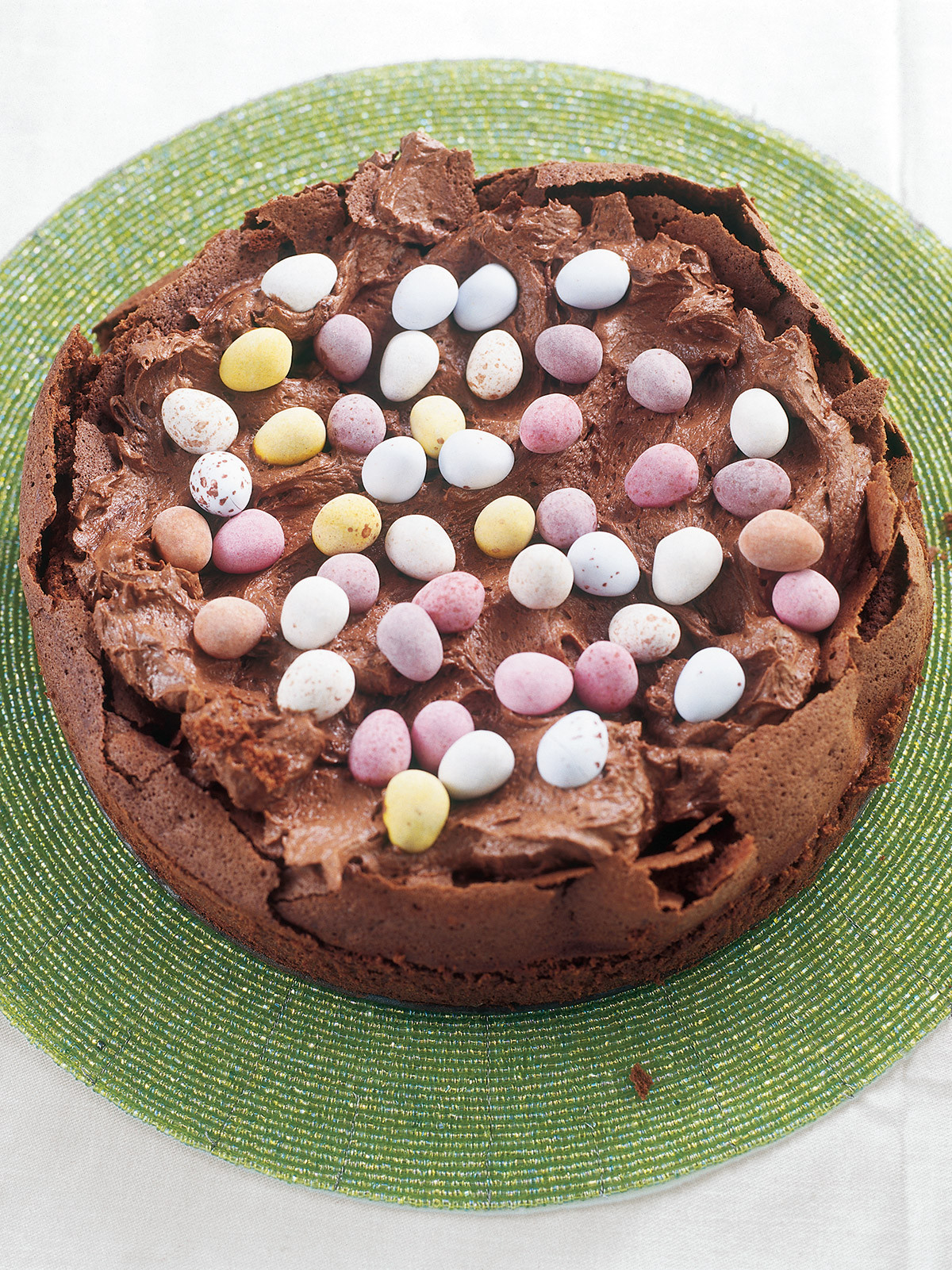 Chocolate Easter Cake  Easter Egg Nest Cake Nigella s Recipes