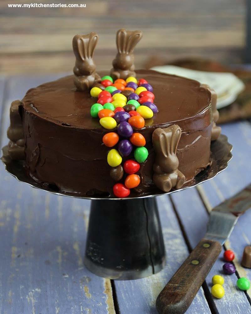 Chocolate Easter Cake  Chocolate Refrigerator Cake