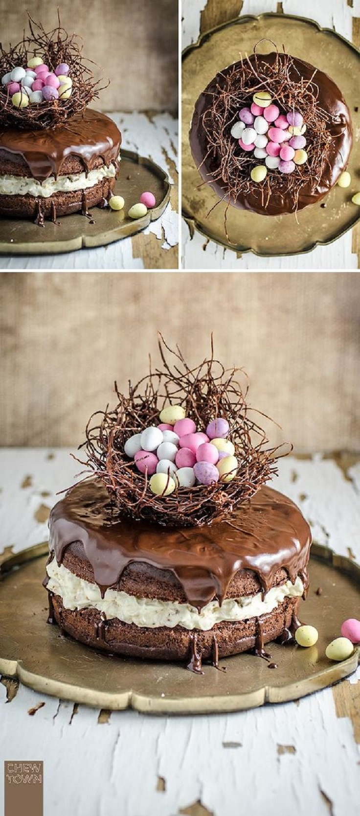 Chocolate Easter Cake  12 Easter Cakes That ll Impress Anyone on the Dinner Table