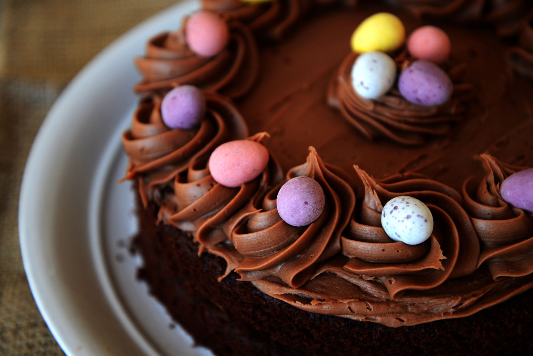 Chocolate Easter Cake  Easter Champion Chocolate Cake Jackson s Bakery