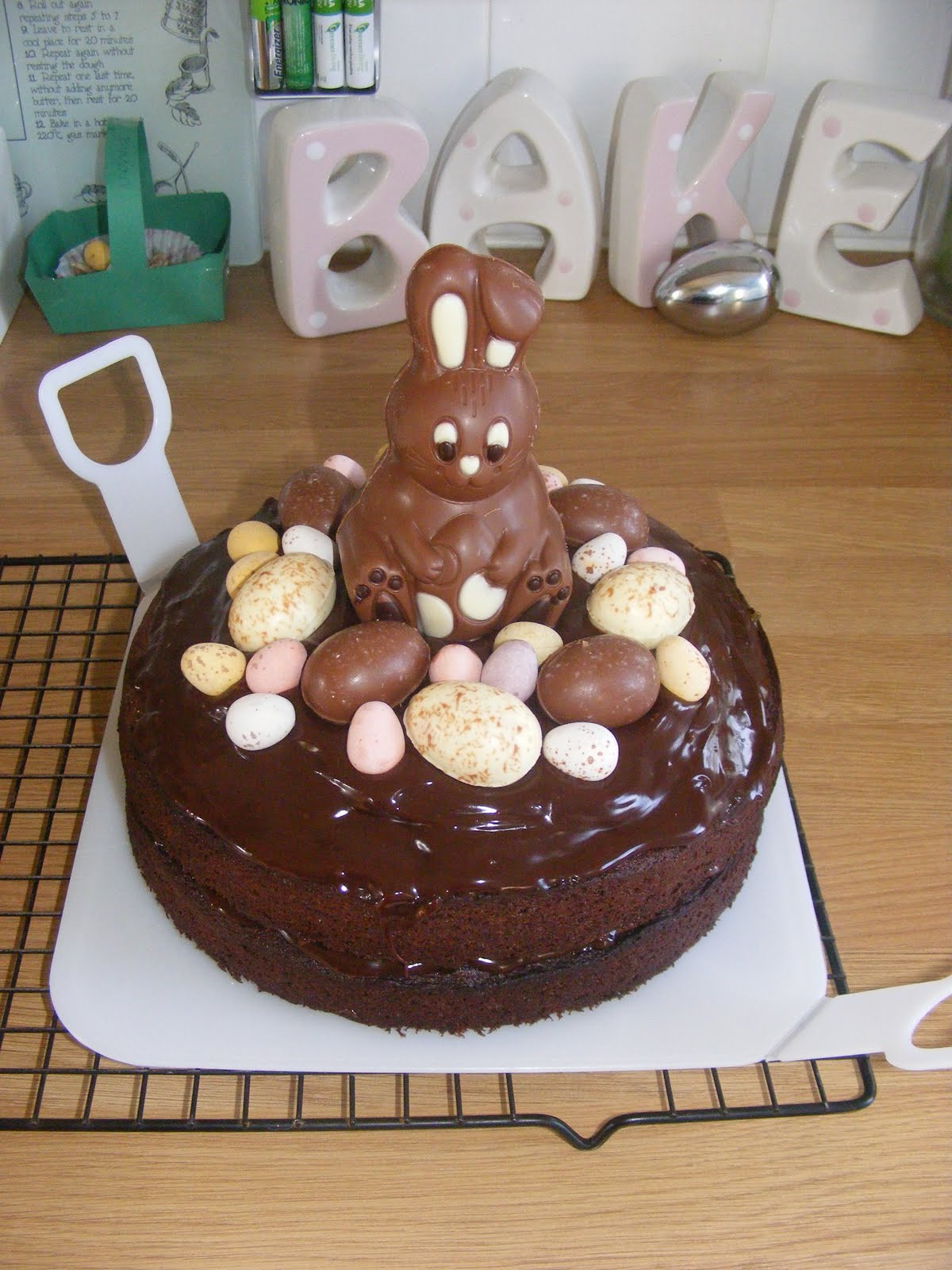 Chocolate Easter Cake  Adventures Play Chocolate Easter Cake