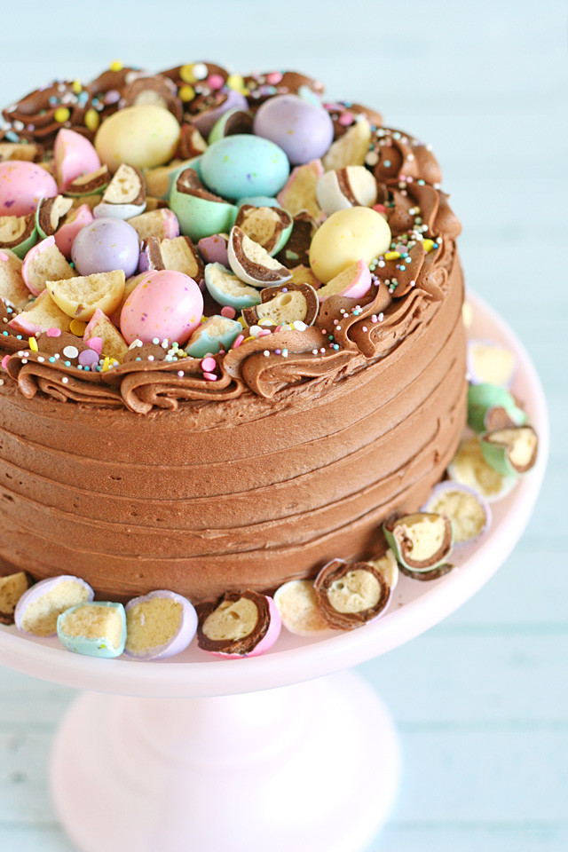 Chocolate Easter Cake  Easter Dessert Ideas – Glorious Treats