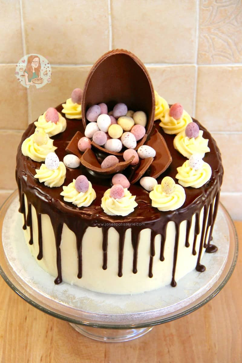 Chocolate Easter Cake  How to Make a Drip Cake 50 Amazing Drizzle Cakes to