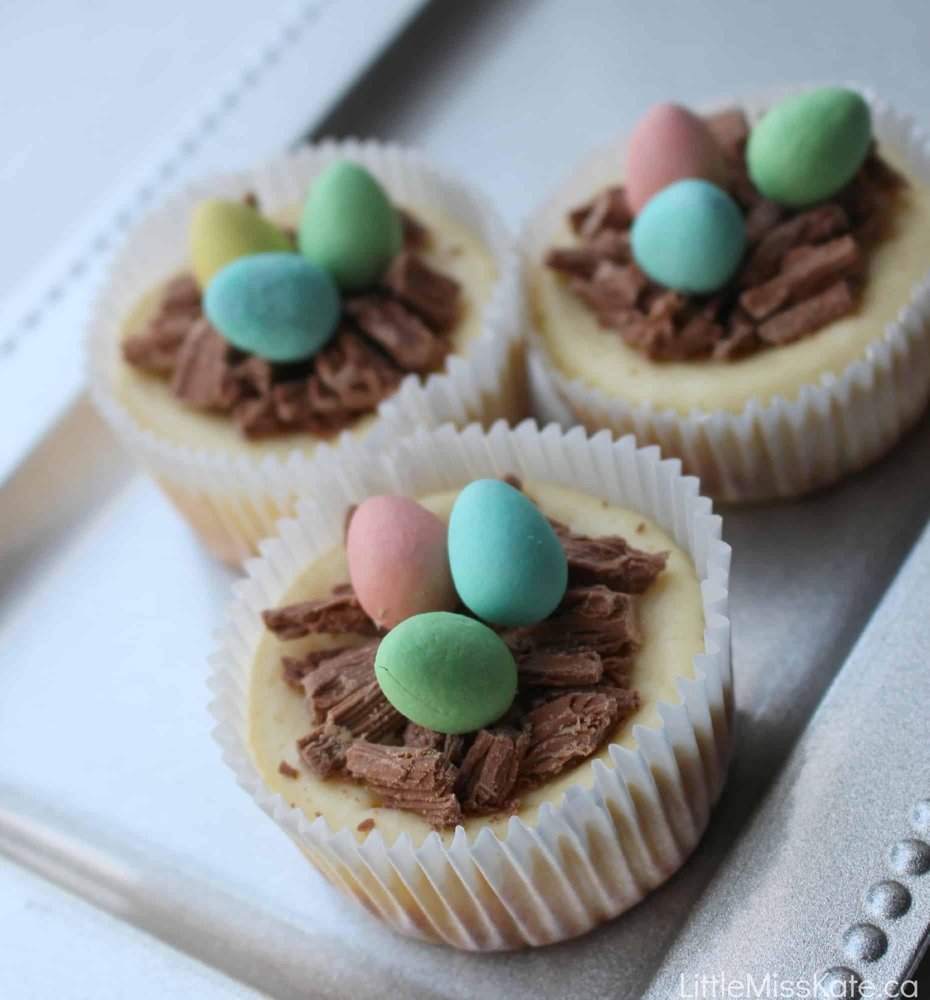 Chocolate Easter Desserts Recipe  Easter Dessert Ideas Easy Mini Cheesecake Recipe Little