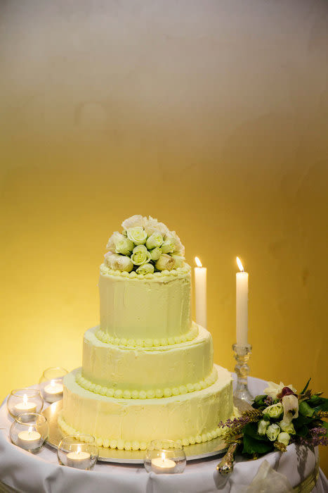 Chocolate Ganache Wedding Cakes  white chocolate ganache wedding cake Cake by