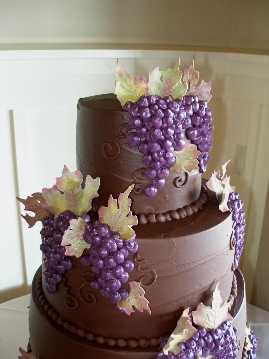 Chocolate Ganache Wedding Cakes  Chocolate Ganache Wedding Cake CakeCentral