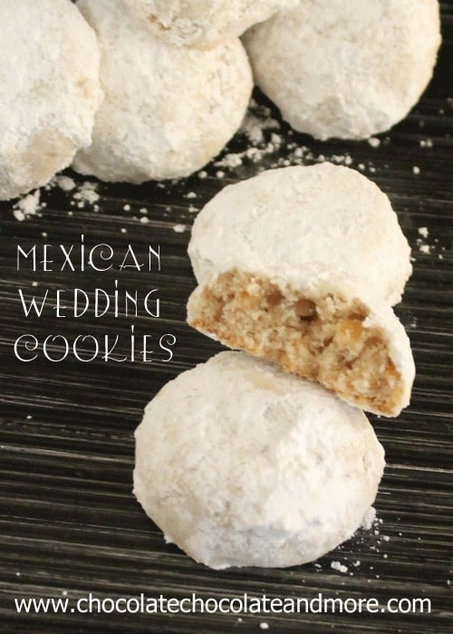 Chocolate Mexican Wedding Cookies  Mexican Wedding Cookies Chocolate Chocolate and More