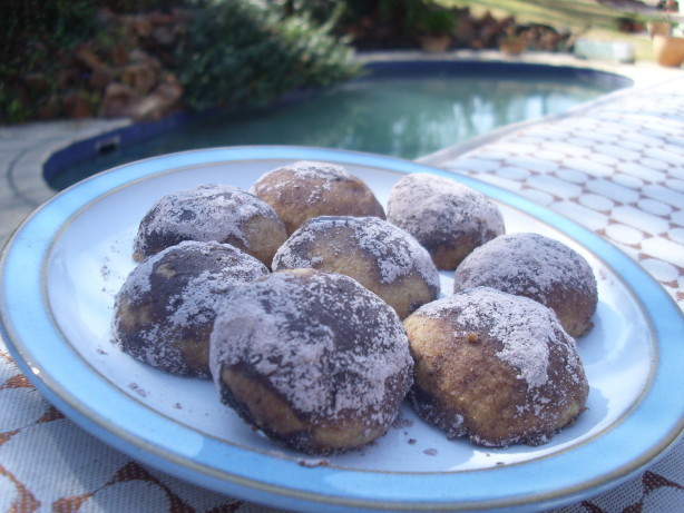 Chocolate Mexican Wedding Cookies  Chocolate Mexican Wedding Cookies Recipe Food