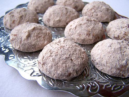 Chocolate Mexican Wedding Cookies  Chocolate Filled Mexican Wedding Cookies Recipe Back to