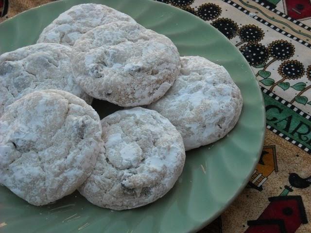 Chocolate Mexican Wedding Cookies  Mommy s Kitchen Recipes From my Texas Kitchen Mexican