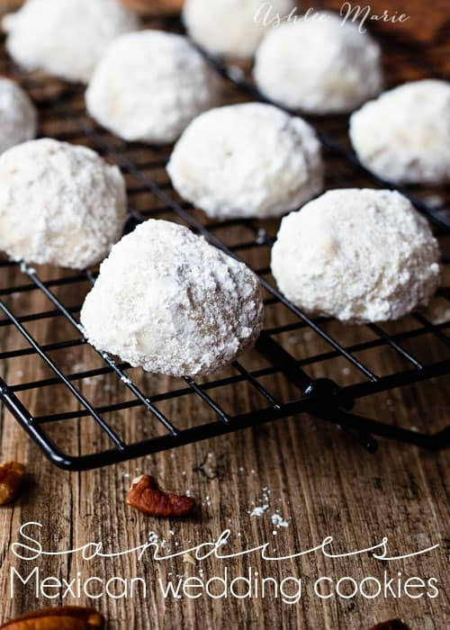 Chocolate Mexican Wedding Cookies  Pecan Cookie Recipes