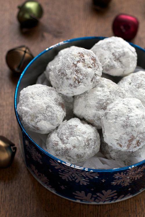 Chocolate Mexican Wedding Cookies  A Less Processed Life What s Baking Chocolate Mexican