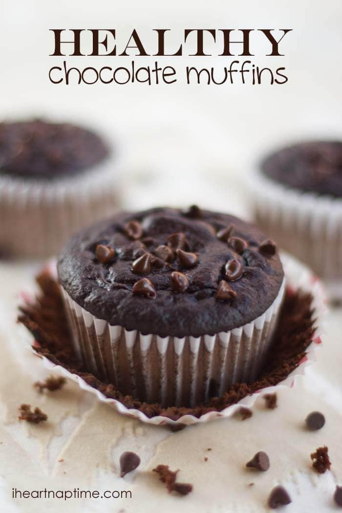 Chocolate Muffins Healthy Best 20 Healthy Chocolate Muffins 95 Calories I Heart Nap Time