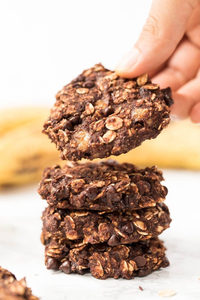 Chocolate Oatmeal Cookies Healthy  Insanely Healthy Oatmeal Cookies Vegan & GF Simply Quinoa
