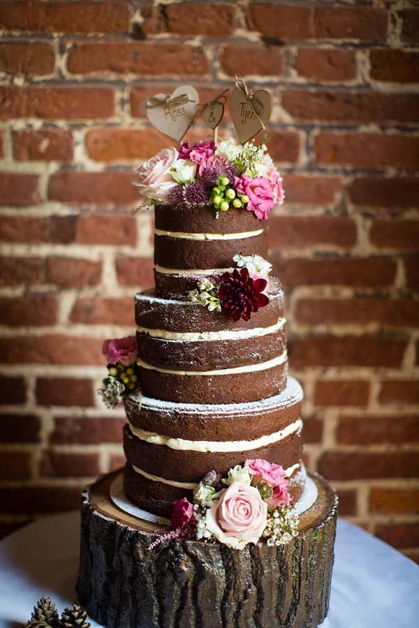 Chocolate Wedding Cakes  18 Scrumptious Chocolate Wedding Cakes