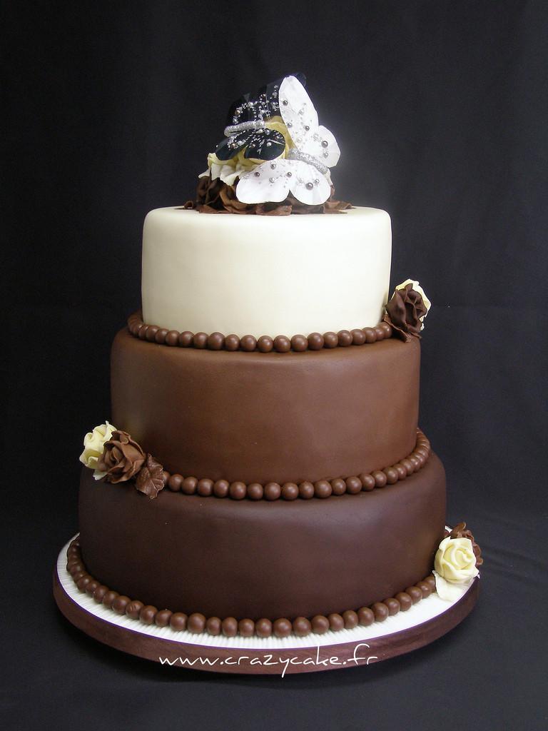 Chocolate Wedding Cakes Pictures  dark chocolate wedding cake