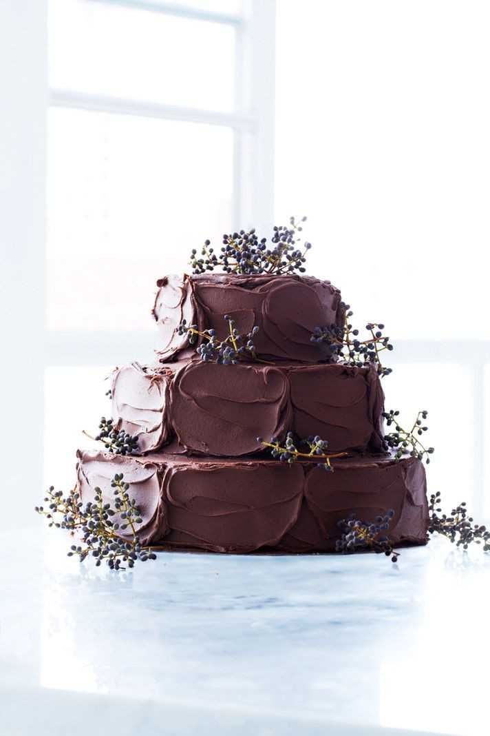 Chocolate Wedding Cakes Pictures  Rustic Chocolate Wedding Cakes Rustic Wedding Chic