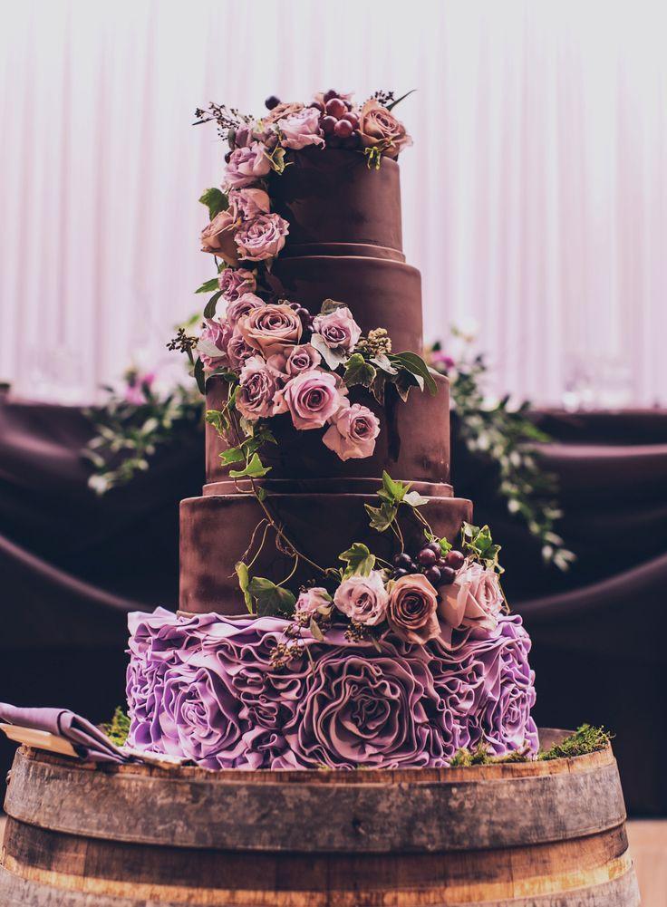 Chocolate Wedding Cakes Pictures  Wedding Cake Inspiration