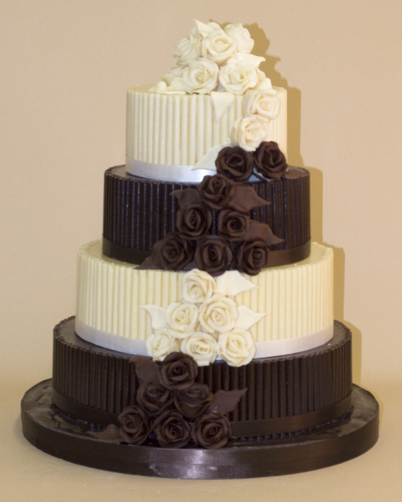 Chocolate Wedding Cakes Pictures  Buy Chocolate Wedding Cakes and White Chocolate Wedding