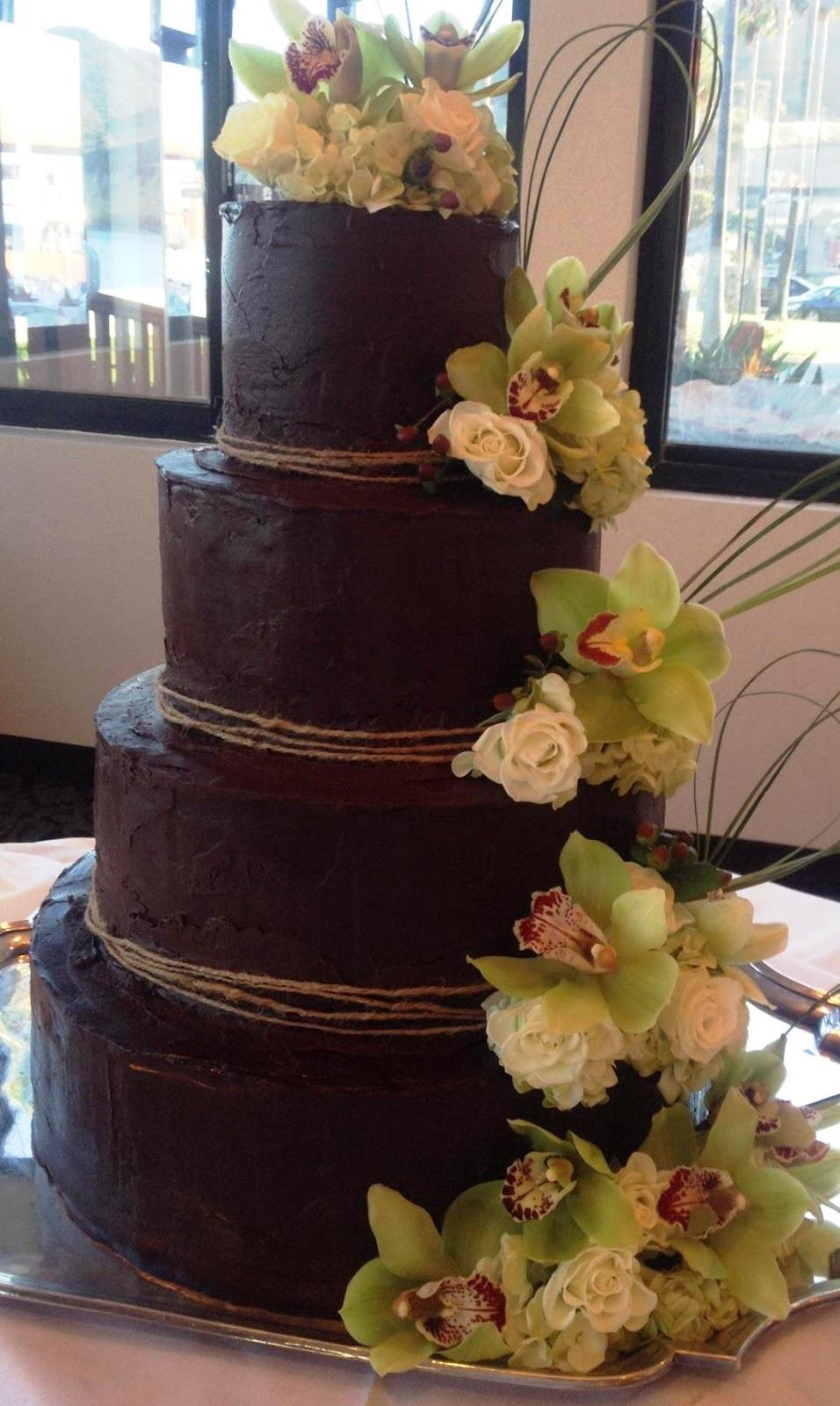 Chocolate Wedding Cakes Pictures  Cake Recipe Wedding Cake Ganache Recipe