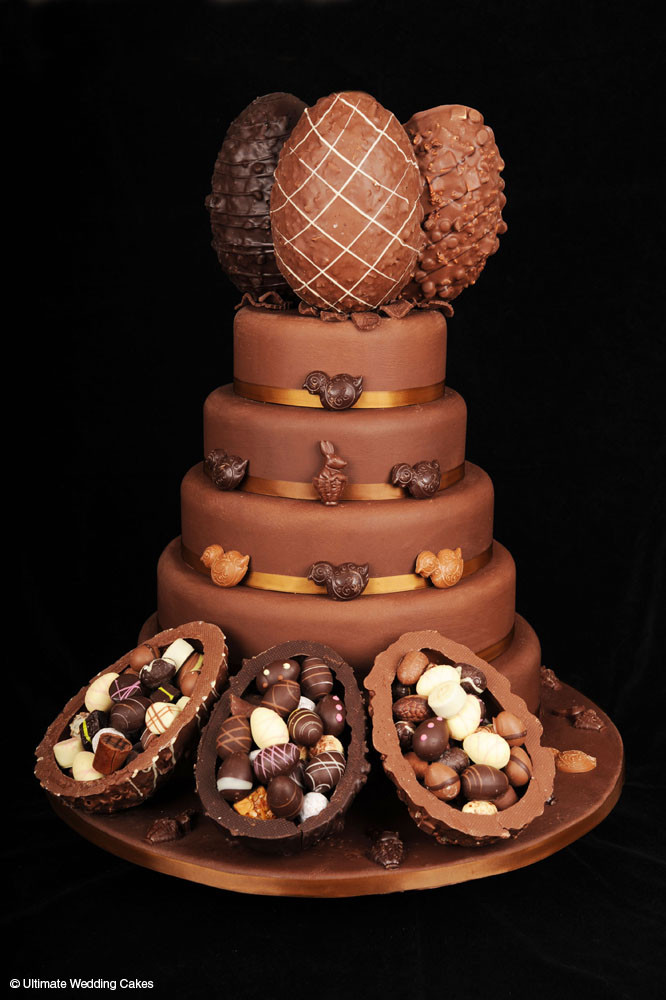 Chocolate Wedding Cakes  Chocolate Cakes Ultimate Wedding Cakes Cheshire