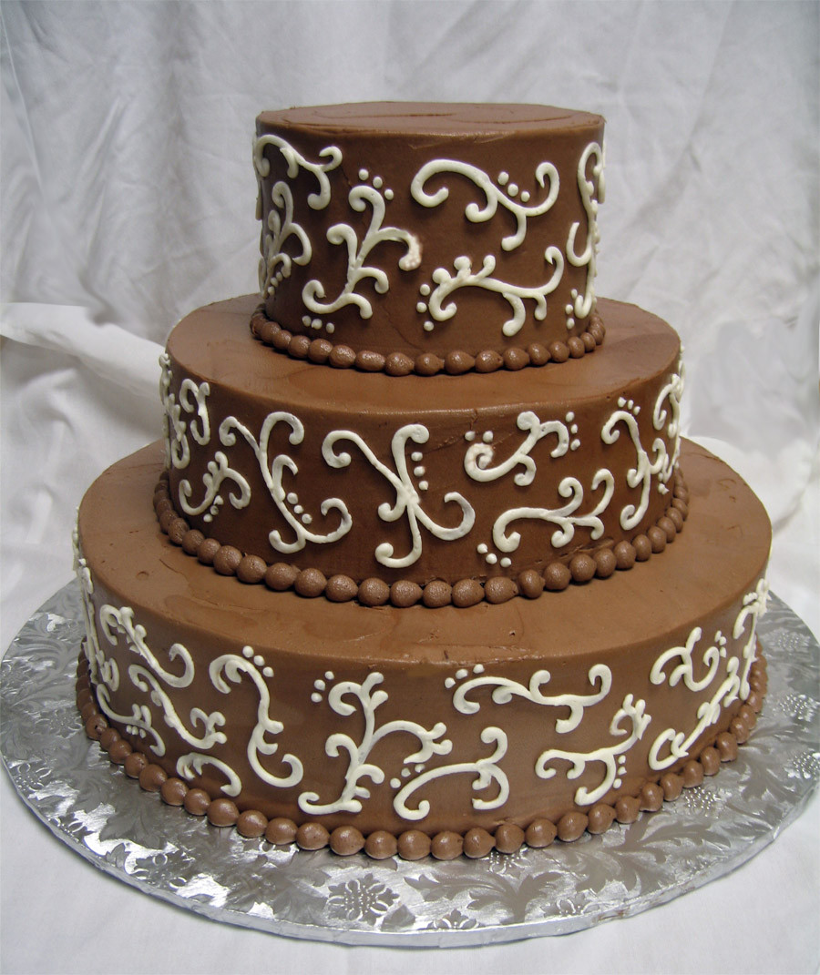 Chocolate Wedding Cakes  Types of Wedding Cakes – Which e will You Choose