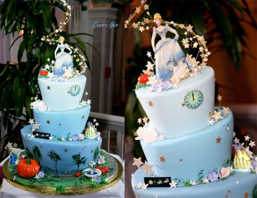 Cinderalla Wedding Cakes  Cinderella Cake