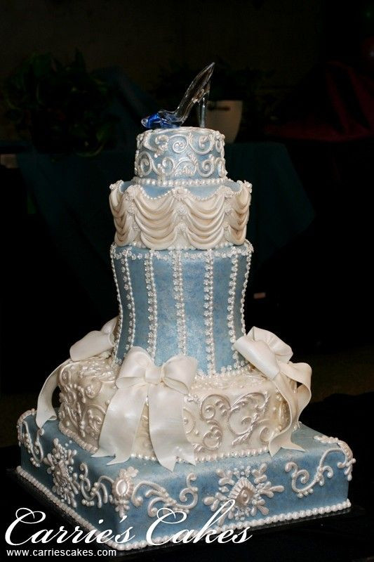 Cinderalla Wedding Cakes  207 best images about Disney s Cinderella Cakes on Pinterest