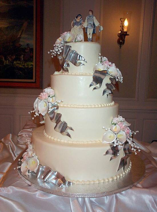 Cinderalla Wedding Cakes  Disney Cinderella Fairy Tale Wedding Cakes