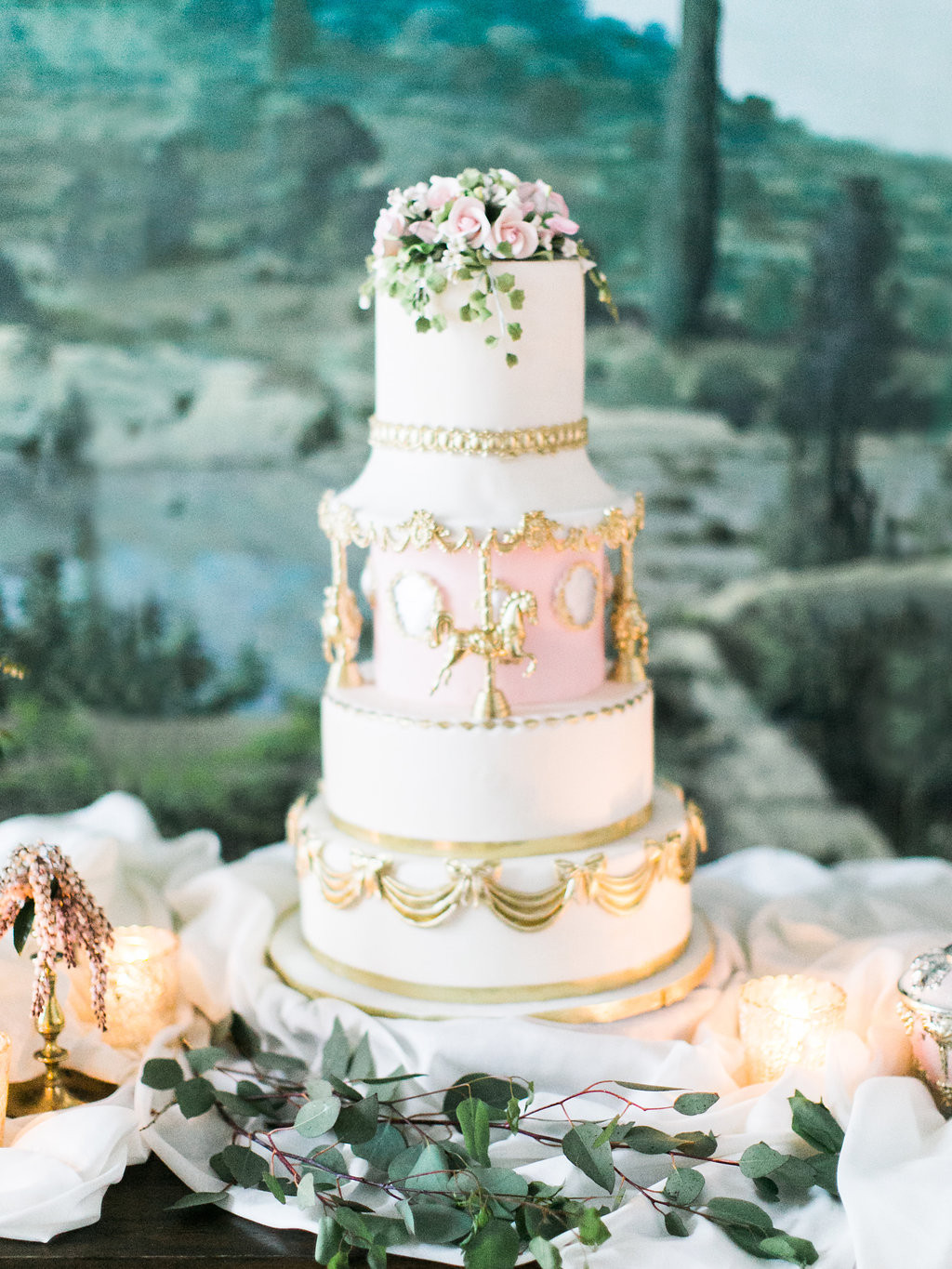 Cinderalla Wedding Cakes  Cinderella Wedding Cake Elizabeth Anne Designs The