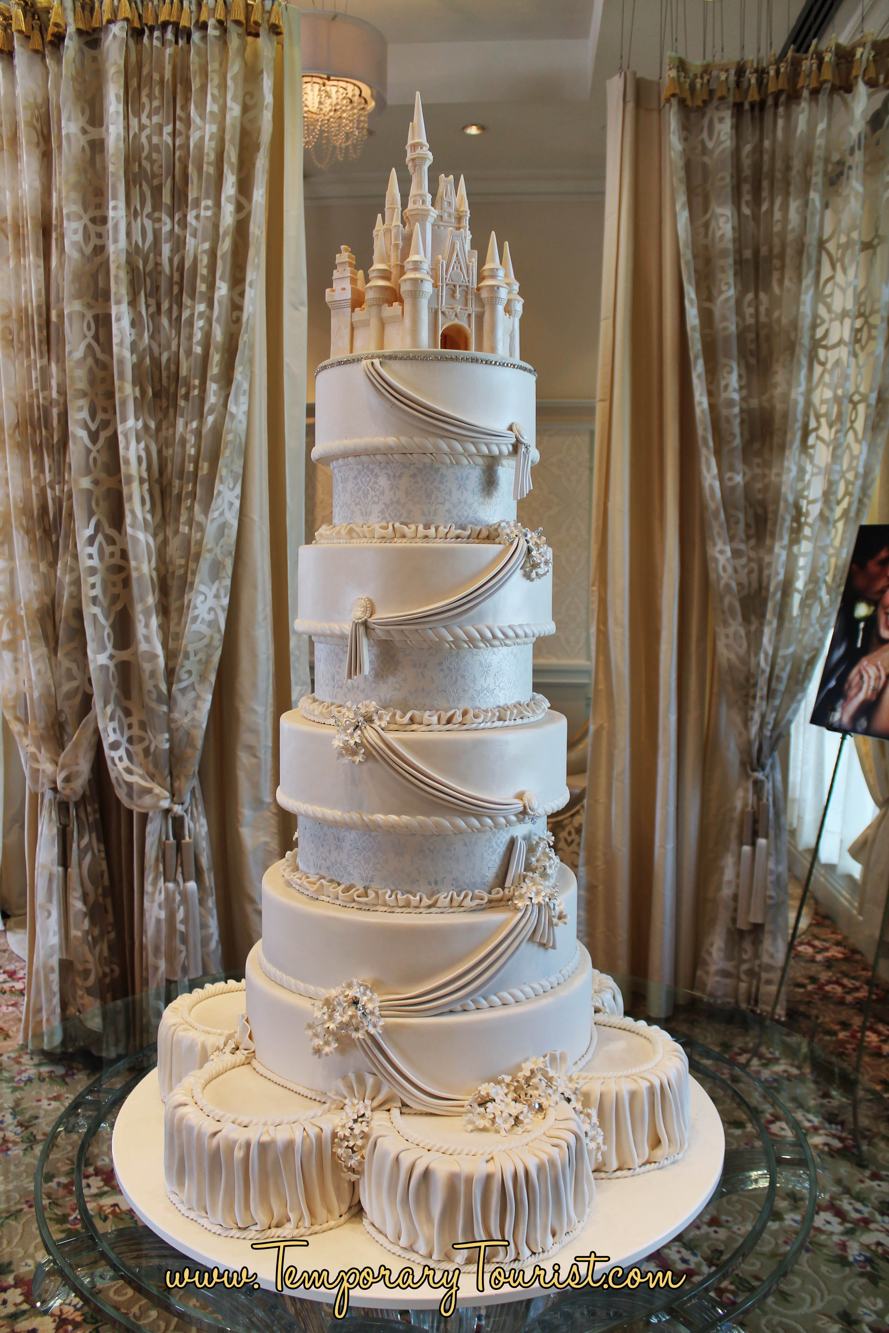 Cinderella Wedding Cakes  Walt Disney Worlds Wedding Pavilion Francs Wedding