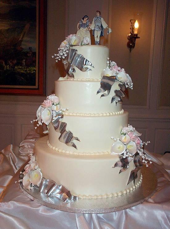 Cinderella Wedding Cakes  Disney Cinderella Fairy Tale Wedding Cakes