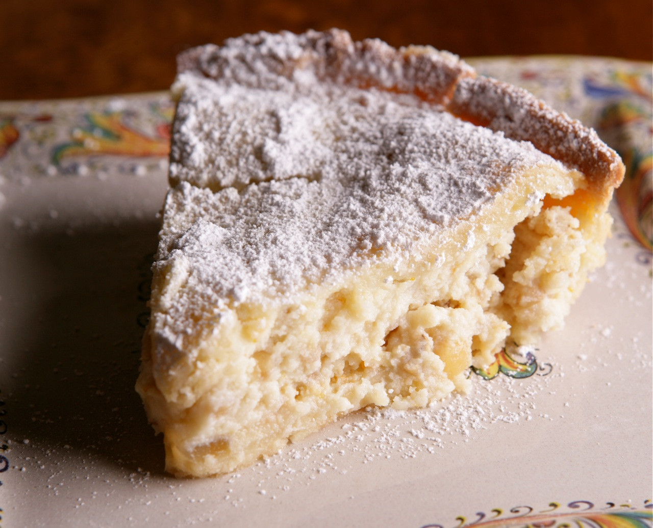 Classic Easter Desserts  Pastiera di Grano Traditional Easter dessert of Naples
