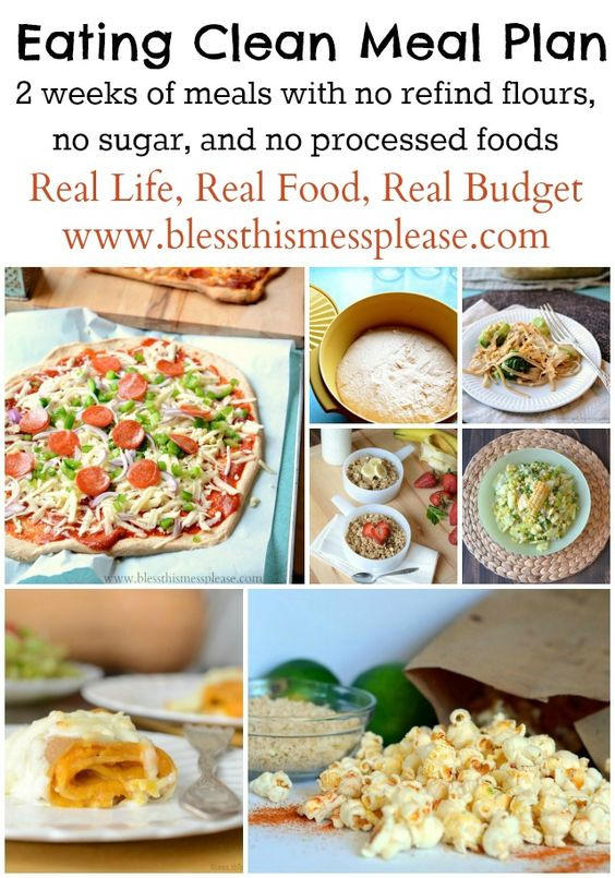 Clean And Healthy Eating  Eating Clean Meal Plan Spring Summer Menu
