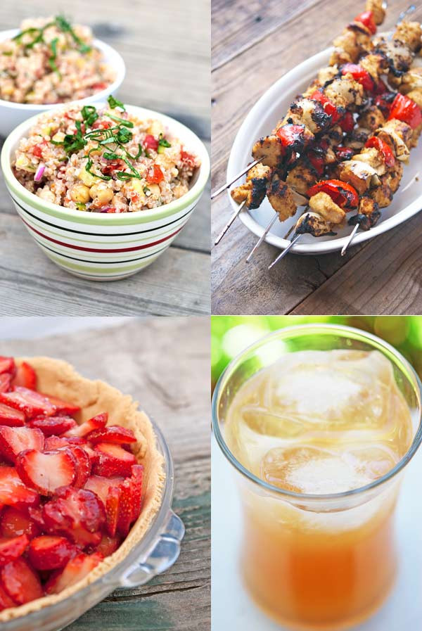 Clean Eating Summer Recipes  Clean Eating Summer Recipe Roundup