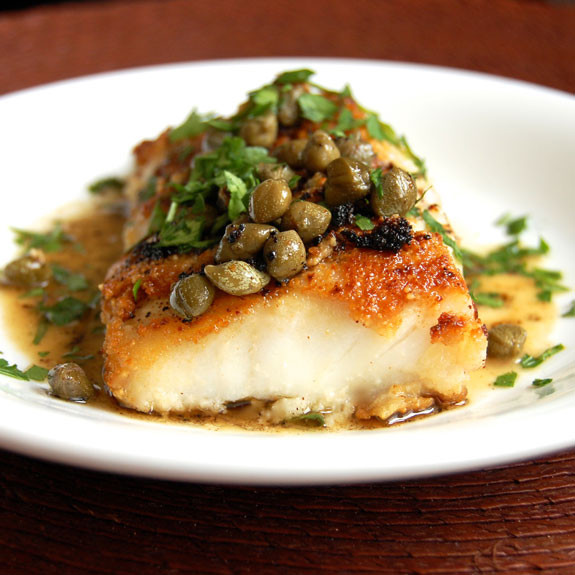 Cod Fish Recipes Healthy  Simple Cod Piccata A Tasty and Easy Cod Recipe