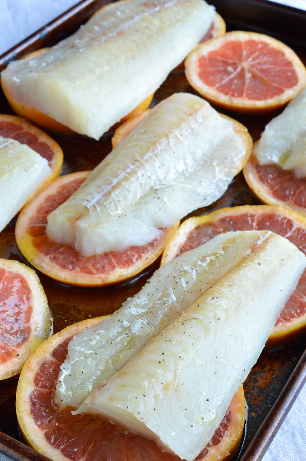 Cod Fish Recipes Healthy  Grapefruit and Honey Glazed Baked Cod Recipe