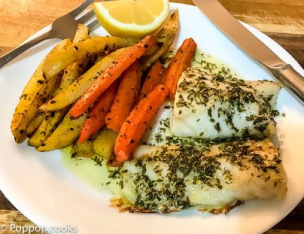 Cod Fish Recipes Healthy  Baked Cod e Pan Dinner Quick and Easy 25 Minutes