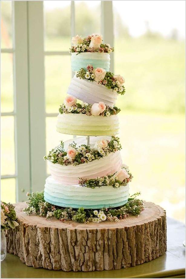 Confetti Wedding Cakes  Spring and Summer Wedding Cake Inspiration Confetti