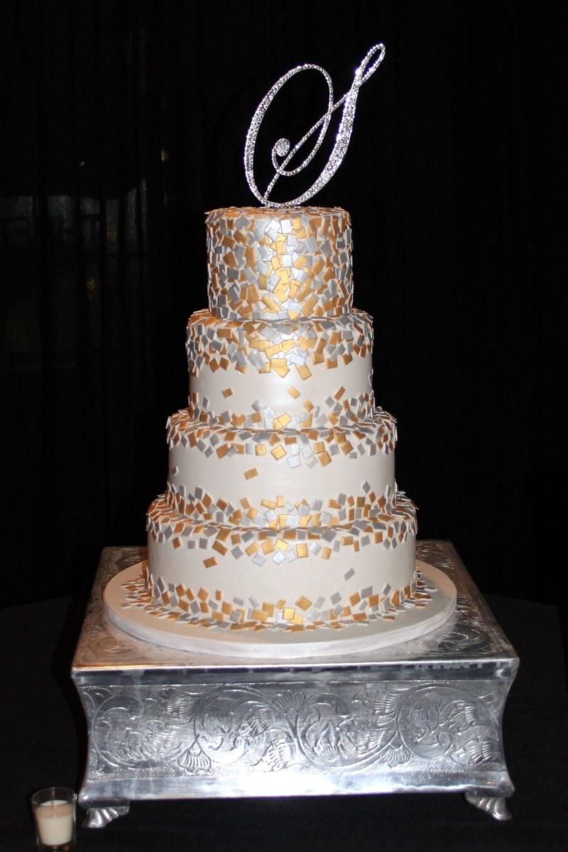 Confetti Wedding Cakes  confetti wedding cake Cake Decorating munity Cakes
