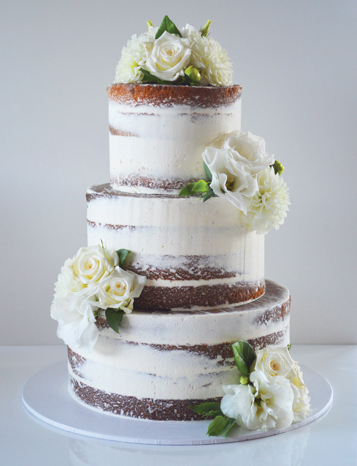 Contemporary Wedding Cakes  30 Simply Stunning White Wedding Cakes Modern Wedding