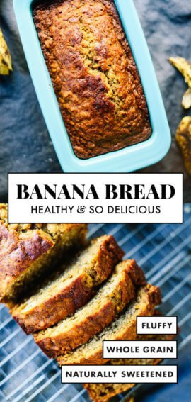 Cookie And Kate Healthy Banana Bread  Healthy Banana Bread Recipe Cookie and Kate
