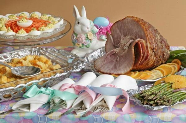 Cooking Light Easter Dinner  Easter Buffet Ideas