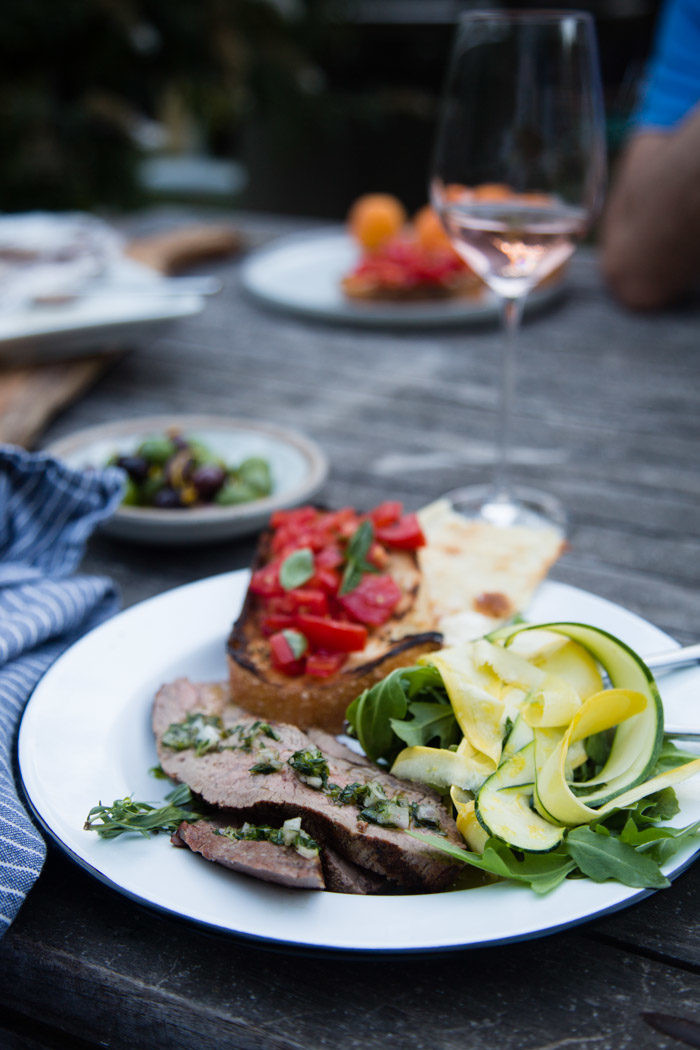 Cool Summer Dinners  Keeping Cool No oven summer meals Hither & Thither
