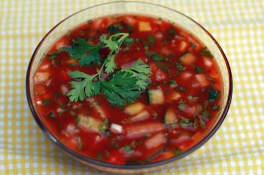 Cool Summer Dinners  Dinner Tonight Cool Summer Gazpacho