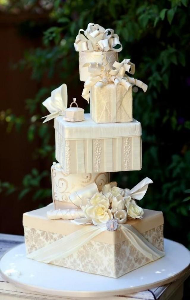 Cool Wedding Cakes  Unique Wedding Cake Wedding Cake Weddbook