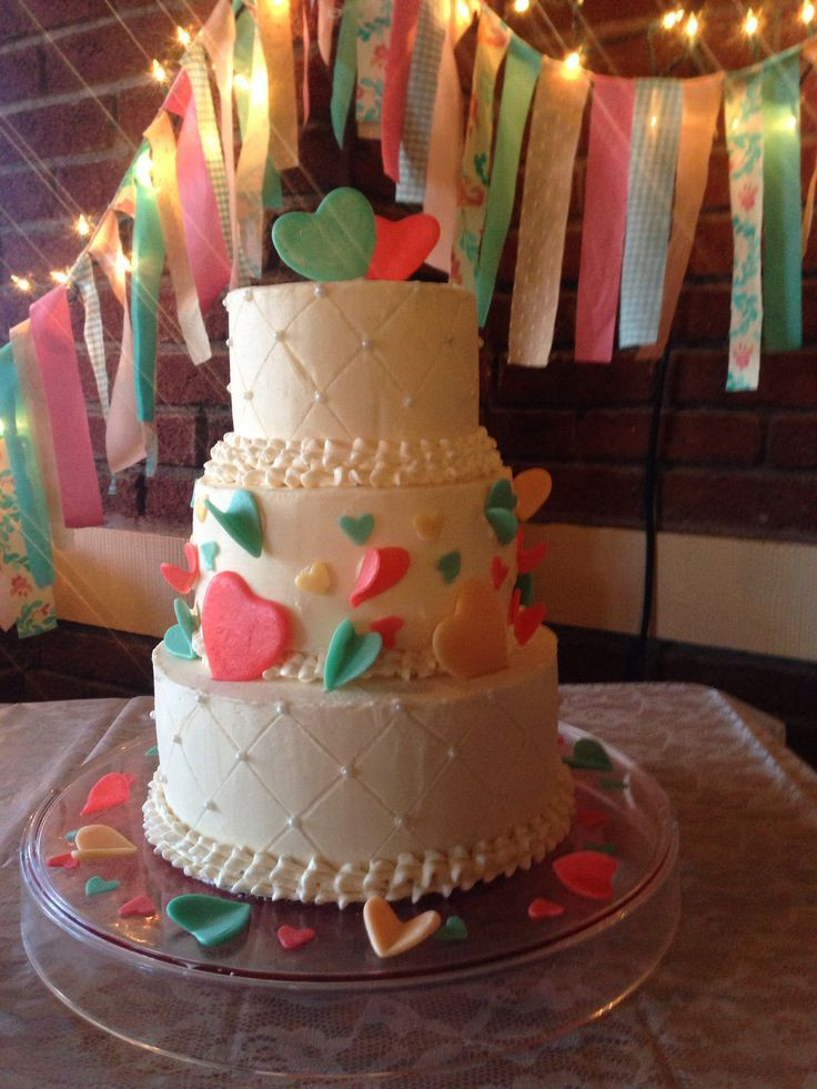 Coral And Teal Wedding Cakes  17 Best images about Wedding Ideas on Pinterest